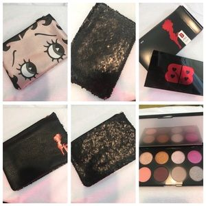 Betty Boop makeup bags and palette